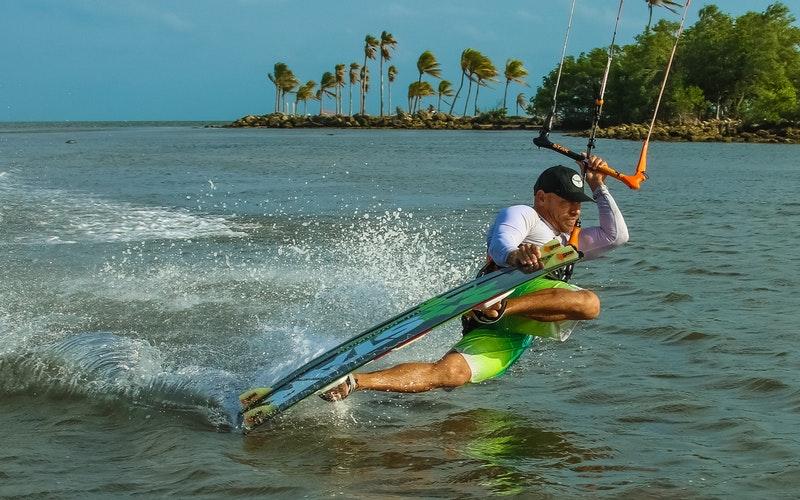 prendre cours kitesurf